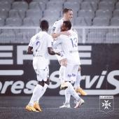 🔝 Rémy Dugimont double la mise et inscrit son 4e but de la saison 🔵⚪️