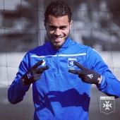 🎂 Joyeux #AJAnniversaire Hamza 🔵⚪️ 🆙 25 ans 🥳  🔹 🔹 🔹 #birthday #happybirthday #anniversaire #anniversary #aja #ajauxerre #auxerre #teamaja #sakhi #hamzasakhi #milieu #midfielder #maroc