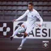 💥 Demi-volée, lucarne nettoyée, cinquième but marqué 🔝 ▫️▫️▫️ #Dugimont #RémyDugimont #AJA #AJAuxerre #TeamAJA #FiersdetreAuxerrois #Ligue2BKT #striker #attaquant #buteur #goal