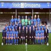 📸 Photo officielle AJA Stade saison 2020-2021 🔵⚪️ ▫️▫️▫️ #football #footballfeminin #feminines #AJA #AJAuxerre #AJAstade #fiersdetreAuxerrois #squad #girlpower
