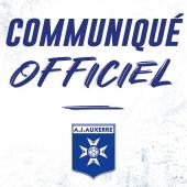 Le Conseil d'Administration de la SAS AJ Auxerre Football a officialisé la nomination de James Zhou à la présidence du club.   Retrouvez le communiqué sur le site internet du club.