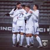 Victoire 3-0 au Paris FC ✌🏽 Superbe prestation de la #TeamAJA qui remonte à la 3e place de #ligue2bkt 🔵⚪️