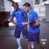 📸 Départ en stage pour Kévin, Hamza et la TeamAJA 🚎